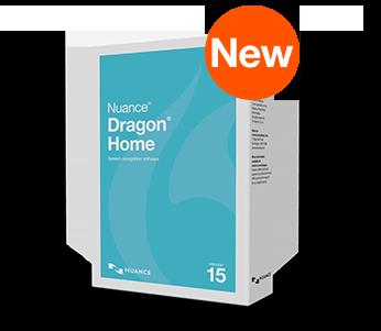 Nuance Dragon Home 15